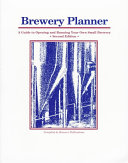 Brewery Planner Book PDF