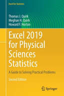 Excel 2019 for Physical Sciences Statistics