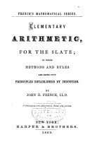 Elementary Arithmetic for the Slate