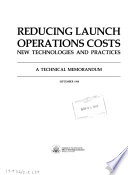 Reducing Launch Operations Costs
