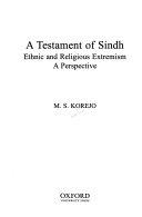 A Testament of Sindh