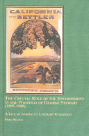 The Crucial Role of the Environment in the Writings of George Stewart  1895 1980
