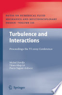 Turbulence And Interactions Book PDF