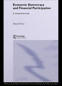 Economic Democracy and Financial Participation