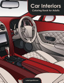 Car Interiors Coloring Book for Adults 1