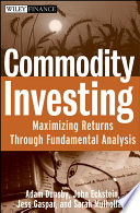 Commodity Investing