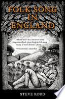 Folk Song in England Book