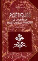 Pdf Poétiques de la chanson traditionnelle française Telecharger