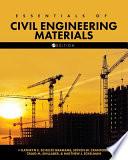 Essentials of Civil Engineering Materials