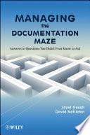 Managing The Documentation Maze