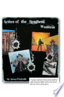 Actors Of The Spaghetti Westerns Book