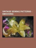 Vintage Sewing Patterns   Smocking