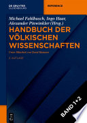 Handbuch der völkischen Wissenschaften  : Akteure, Netzwerke, Forschungsprogramme