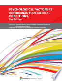 Psychological Factors as Determinants of Medical Conditions  2nd Edition