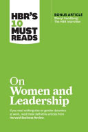 HBR s 10 Must Reads on Women and Leadership Book