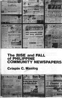 The Rise and Fall of Philippine Community Newspapers