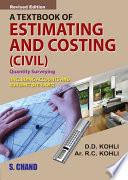 A Textbook of Estimating , Costing & Accounts ( Civil)