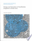 Design And Operation Of Smallholder Irrigation In South Asia Book PDF