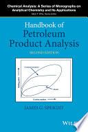 Handbook Of Petroleum Product Analysis Book PDF