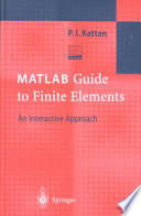 MATLAB Guide to Finite Elements