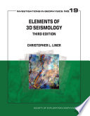 Elements Of 3d Seismology Third Edition Book PDF
