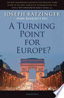 A Turning Point for Europe