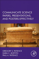 Communicate Science Papers  Posters  and Presentations Effectively Book