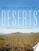 """Encyclopedia of Deserts"" by Michael A. Mares"
