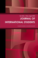 Journal of International Students  May August 2018   Volume 8 Number 2