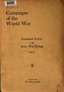 Campaigns of the World War