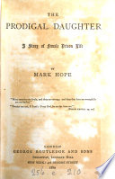 The prodigal daughter  by Mark Hope