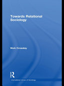 Towards Relational Sociology