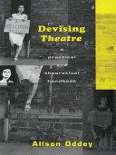 Pdf Devising Theatre Telecharger