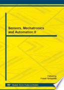 Sensors Mechatronics And Automation Ii Book PDF