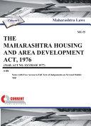 The Maharashtra Housing and Area Development Act  1976