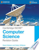 Books - Cambridge Igcse� Computer Science Revision Guide | ISBN 9781107696341