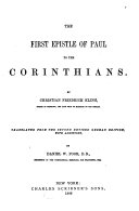 A Commentary on the Holy Scriptures  Critical  Doctrinal  and Homiletical
