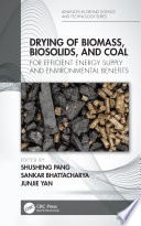 Drying Of Biomass Biosolids And Coal