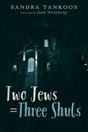 Two Jews   Three Shuls