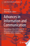 Advances in Information and Communication