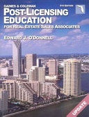 Florida Post-Licensing Education for Real Estate Salespersons