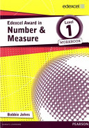 Edexcel Award in Number and Measure Level 1 Workbook