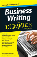 Pdf Business Writing For Dummies
