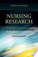 """Nursing Research"" by Patricia Munhall"