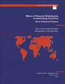 Effects Of Financial Globalization On Developing Countries Book PDF
