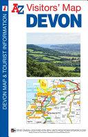 Devon A Z Visitors  Map