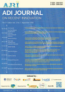 ADI Journal on Recent Innovation  AJRI  The 3rd Edition Vol 2  No 1  September 2020