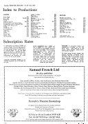 London Theatre Record