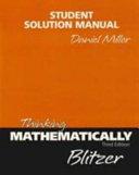 Thinking Mathematically Ssm