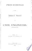 Proceedings Of The American Society Of Civil Engineers